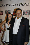 "The film ""Price for Freedom"" worldwide premiere Paul Sorvino (honored here tonight with the Lifetime Achievement Award by Mandy) poses withhis wife Dee Dee Benkie - 10th Anniversary of the Hoboken International Film Festival on May 29, 2015 at the Paramount Theatre, Middletown, NY - runs through June 4. (Photos by Sue Coflin/Max Photos)"