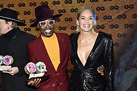 Billy Porter and Sharon Stone at the 21st presentation of the GQ Men of the Year Awards 2019 at the Komische Oper. Berlin, November 7, .2019. Credit: Action Press/MediaPunch ***FOR USA ONLY***