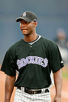 Samuel Deduno - Colorado Rockies - 2009 spring training.Photo by:  Bill Mitchell/Four Seam Images