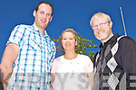 HELPING THE POOR: Declan Mangan (Firies) and Karen Barry (Killarney) who are to visit India in July to work with Br. Tom Walsh from Cordal (left) at the De La Salle mission in Keesara.