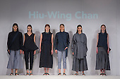 01/06/2015. London, UK. Collection by Hiu-Wing Chan. Fashion show of the University of Brighton at Graduate Fashion Week 2015. Graduate Fashion Week takes place from 30 May to 2 June 2015 at the Old Truman Brewery, Brick Lane.