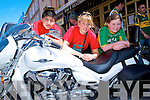 BIKER FEST: Having a great time at the Ireland Bike Fest in Killarney on Sunday l-r: Sam Murray, Amy Bramley and Naoise Griffin, Killarney.