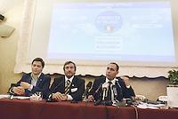 Roma, 18 Giugno 2013<br /> Hotel Nazionale<br /> Nasce &quot;L'esercito di Silvio&quot;, presentazione del movimento politico in difesa di Silvio Berlusconi fondato da Simone Furlan, a dx nella foto
