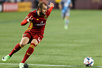Minneapolis, MN - Saturday, April 1, 2017: Minnesota United FC played Real Salt Lake in a Major League Soccer (MLS) game at TCF Bank Stadium. Final score Minnesota United FC 4, Real Salt Lake 2