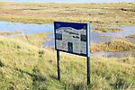 Simpson's Saltings, Suffolk Wildlife Trust, Hollesley Marshes Wetland, Suffolk, England, UK
