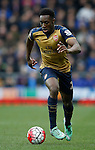 Danny Welbeck of Arsenal during the Barclays Premier League match at The Goodison Park Stadium. Photo credit should read: Simon Bellis/Sportimage