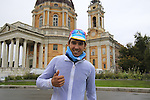 Diego Rosa (ITA) Astana wins the 2015 96th Milan-Turin 186km race starting at San Giuliano Milanese and finishing at Bisilica di Superga, Turin, Italy. 1st October 2015.<br /> Picture: Eoin Clarke | Newsfile
