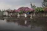 Rainy season in Goma, sept 2013