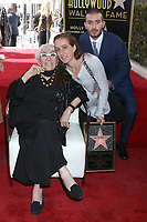 LOS ANGELES - OCT 28:  Lina Wertmuller, Maria Zulima Job, Alessandro Santoni at the Lina Wertmuller Star Ceremony on the Hollywood Walk of Fame on October 28, 2019 in Los Angeles, CA