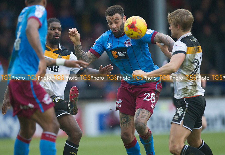 Craig Davies of Scunthorpe during Scunthorpe United vs Port Vale, Sky Bet EFL League 1 Football at Glanford Park on 28th January 2017