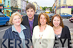 Kenmare Chamber of Commerce members who are planning for a busy summer ahead l-r: Nora Finnegan, JohnO'Sullivan, Anne Marie Cleary and Christine Bras  ..