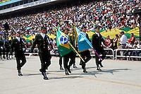 SAO PAULO, SP, 07 DE SETEMBRO 2012 - DESFILE CIVICO DIA DA INDEPENDENCIA DO BRASIL - EM SAO PAULO - <br /> Desfile C&iacute;vico-Militar do Dia da P&aacute;tria em comemora&ccedil;&atilde;o ao 190&deg; anivers&aacute;rio da Independ&ecirc;ncia do Brasil, no Sambodromo do Anhembi, na regiao norte da capital paulista, nesta sexta-feira, 07. (FOTO: POLINE LYS / BRAZIL PHOTO PRESS).