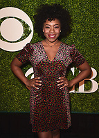 NORTH HOLLYWOOD, CA - JANUARY 23:  Ashleigh Hairston at the 2018 CBS Diversity Comedy Showcase at the El Portal Theatre on January 23, 2018 in North Hollywood, California. (Photo by Scott Kirkland/PictureGroup)