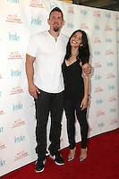 STUDIO CITY, CA - JULY 27: Steve Howey, Sarah Shahi  at Raising The Bar To End Parkinson's at Laurel Point on July 27, 2016 in Studio City, California. Credit: David Edwards/MediaPunch