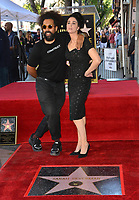 LOS ANGELES, CA. November 09, 2018: Sarah Silverman & Reggie Watts at the Hollywood Walk of Fame Star Ceremony honoring comedian Sarah Silverman.<br /> Pictures: Paul Smith/Featureflash