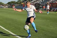 Piscataway, NJ - Saturday July 23, 2016: Leah Galton prior to a regular season National Women's Soccer League (NWSL) match between Sky Blue FC and the Washington Spirit at Yurcak Field.
