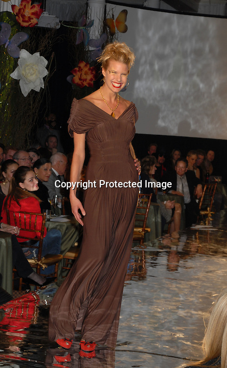 """Beth Ostrosky..at The Design Cares """"An Evening of Enchantment""""Fashion ..Event benefitting St Jude Children's Research Hospital ..on February 7, 2007 at The Puck Building in New York. ..Robin Platzer, Twin Images.."""