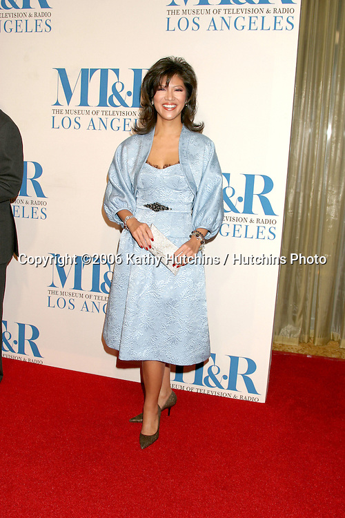 Julie Chen.Museum of TV & Radio Annual Gala IHO Les Moonves and Jerry Bruckheimer.Regent Beverly Wilshire Hotel.Beverly Hills, CA.October 30, 2006.©2006 Kathy Hutchins / Hutchins Photo....