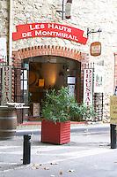 wine shop les hauts de montmirail gigondas rhone france