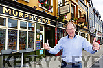 Sean Murphy who is delighted to have Murphy's bar Killarney reopened again