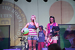 July 4th 2016 Bret Michaels performs at the Moapa Indian festival as Vegas Bret does crowd control with the photo seekers.
