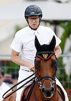 Guillaume Canet during the International Monte-Carlo Jumping on day 01