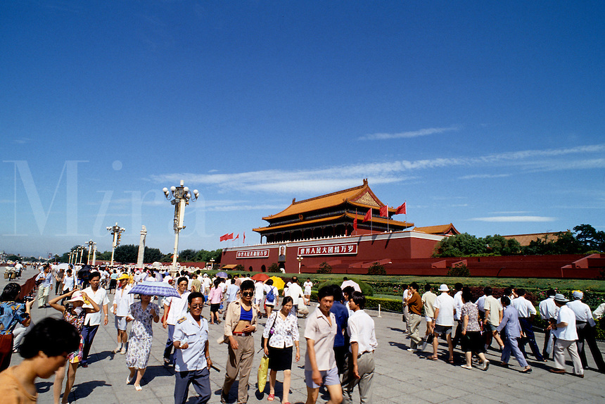 Beautiful scenic of the Forbidden City in Beijing China