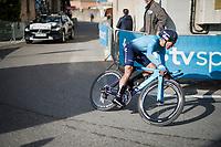 Nairo Quintana (COL/Movistar) <br /> <br /> Stage 5 (ITT): Barbentane to Barbentane (25km)<br /> 77th Paris - Nice 2019 (2.UWT)<br /> <br /> ©kramon