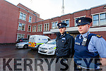 Jason Gibbons and John Burke Gardai outside Tralee Garda Station which is due to undergo a huge revamp.
