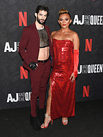 "10 January 2020 - Beverly Hills, California - Jerwin Monje and RJ Aguiar. Netflix's ""AJ And The Queen"" Season 1 Premiere at The Egyptian Theatre in Hollywood. Photo Credit: Billy Bennight/AdMedia"