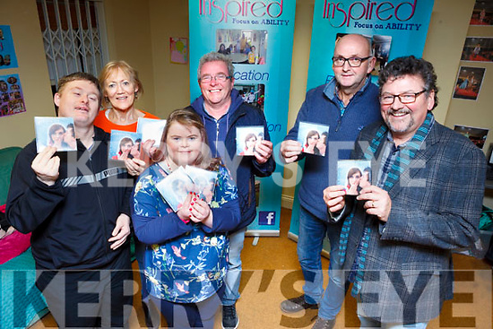 David Malone, Labhaoise O'Connor, Fran Malone, Donal O'Connor, Pat Pierse and John Buggy launched 'A Christmas Hug' single in aid of Inspired on Tuesday evening.