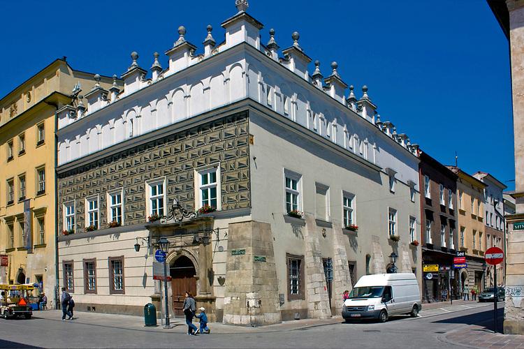 Prałatówka kościoła Mariackiego (Rynek Główny nr 4) w Krakowie, Polska<br /> Praise of St. Mary's Church (Main Market No. 4) in Cracow, Poland