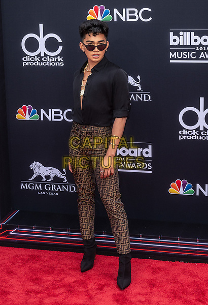 LAS VEGAS, NV - MAY 20: Bretman Rock at the 2018 Billboard Music Awards at the MGM Grand Garden Arena in Las Vegas, Nevada on May 20, 2018. <br /> CAP/MPI/DAM<br /> &copy;DAM/MPI/Capital Pictures