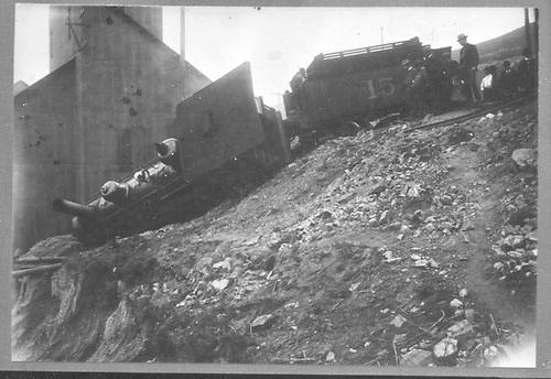 CM #15 wreck.<br /> Colorado Midland