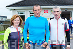 Helen and Tom Barrett Scartaglen and John McCarron Listowel at the Castleisland Day Care centre cycle on Sunday morning