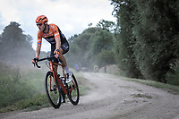 Lars Boom (NED/Roompot Charles) riding a gravel section<br /> <br /> Antwerp Port Epic 2019 <br /> One Day Race: Antwerp > Antwerp 187km<br /> <br /> ©kramon