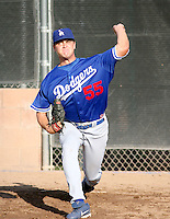 Cole St Clair / Los Angeles Dodgers 2008 Instructional League..Photo by:  Bill Mitchell/Four Seam Images