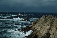 Europe/France/Bretagne/29/Finistère/Pointe du raz: Gros temps