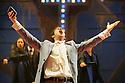 "London, UK. 05.08.2015. Mountivew Academy of Theatre Arts presents VIOLET, at the Bernie Grant Arts Centre. Music by Jeanine Tesori , lyrics & book by Brian Crawley, based on ""The Ugliest Pilgrim"" by Doris Betts.<br /> Directed by Charlotte Westenra. Cast is: Emma Fraser (Violet), Sophie McKinnon (Young Violet), Rodney Vubya (Flick), Daniel Miles (Monty), Niv Petel (Preacher), Adam Robert Lewis (Father), Suchiththa DeSilva (Creepy Guy/Radio Singer), Anna Goldboy (Mabel/Woman with a Fan), Fia Houston-Hamilton (Woman Knitting/Landlady), Lara Kidd (Old Lady/Hotel Singer), George Grey (Bus Driver/Hoodlum). Photograph © Jane Hobson, UK."