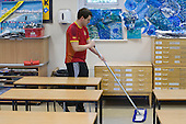 Cleaner,  State Secondary Roman Catholic school.