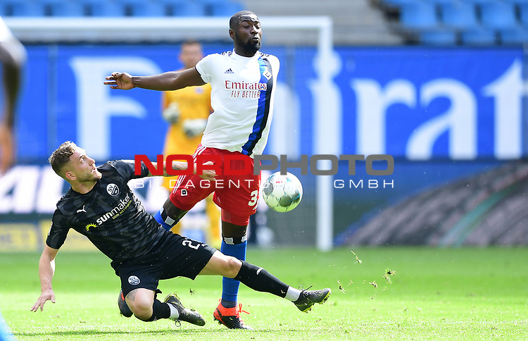 v.l. Robin Scheu, Stephan Ambrosius (HSV)<br />