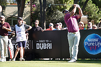 Ryan Fox (NZL) during the first round of the Turkish Airlines Open, Montgomerie Maxx Royal Golf Club, Belek, Turkey. 07/11/2019<br /> Picture: Golffile | Phil INGLIS<br /> <br /> <br /> All photo usage must carry mandatory copyright credit (© Golffile | Phil INGLIS)