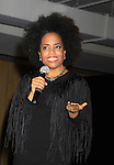 """Another World's Rhonda Ross (event co-host) sings """"Come To The Cabaret"""" at Hearts of Gold's 16th Annual Fall Fundraising Gala & Fashion Show """"Come to the Cabaret"""", a benefit gala for Hearts of Gold on November 16, 2012 at the Metropolitan Pavilion, New York City, New York.   (Photo by Sue Coflin/Max Photos)"""