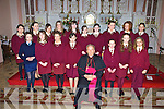 Bishop of Kerry Bill Murphy pictured with the pupils of St Joseph's National School, Ballybunion after their confirmation in St John's Church, Ballybunion on Monday