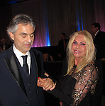 Nina Terzian & Andrea Bocelli 12/09/2011