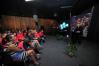 Football Ferns Collective Bargaining Agreement function at the National Library in Wellington, New Zealand on Wednesday, 6 May 2018. Photo: Dave Lintott / lintottphoto.co.nz