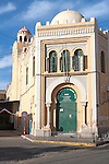 Mezquita Central, central mosque building designed by Enrique Nieto 1945, Melilla, north Africa, Spain