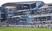 14h April 2018, Aintree Racecourse, Liverpool, England; The 2018 Grand National horse racing festival sponsored by Randox Health, day 3; Large crowds at Aintree for the Grand National meeting