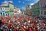 Festa religiosa Dia de Santa Barbara no Pelourinho. Salvador. Bahia. 2015. Foto de Lucia Correia Lima.