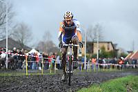 WIELRENNEN: SURHUISTERVEEN: Centrumcross, 20-12-11, Gerben de Knegt, ©foto: Martin de Jong